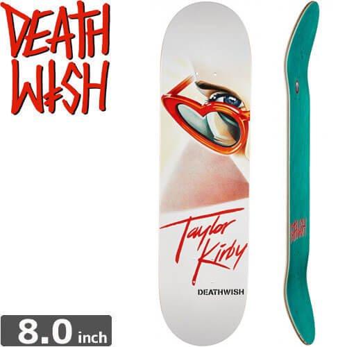 【デスウィッシュ DEATH WISH スケボー デッキ】KIRBY HEARTBREAKER[8.0インチ]NO61