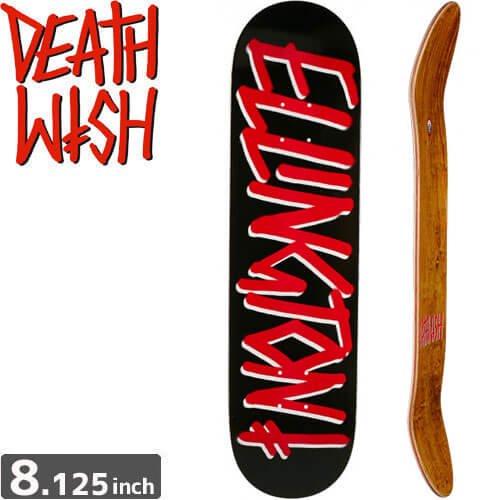 【デスウィッシュ DEATH WISH スケボー デッキ】ELLINGTON GANG NAME DECK[8.125インチ]NO62