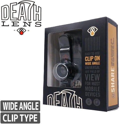 【DEATH DIGITAL デスデジタル レンズ】DEATHLENS デスレンズ CLIP ON WIDE ANGLE LENS - クリップタイプ【広角レンズ】NO14