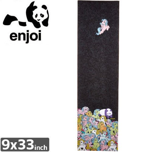 【ENJOI エンジョイ スケボー デッキテープ】MY LITTLE PONY GRIPTAPE【9 x 33】NO2