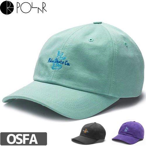 【POLAR ポーラー スケボー キャップ】WAVY SKATER CAP【ダスティーグリーン】【パープル】NO3