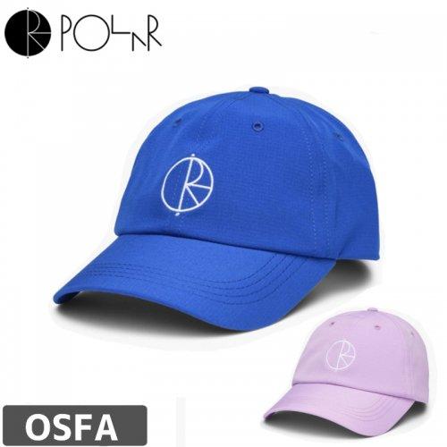 【POLAR ポーラー スケボー キャップ】17 CAMPER CAP 【ブルー】【ラベンダー】NO8