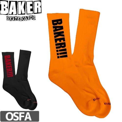 【ベーカー BAKER スケボー ソックス】SCREAMER SOCKS【2カラー】NO01