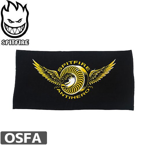 【スピットファイア アンタイヒーロー ビーチタオル】SPITFIRE x ANTI HERO LIMITED CLASSIC EAGLE BEACH TOWEL【180x90cm】NO3
