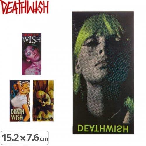 【デスウィッシュ DEATHWISH ステッカー】DEATHWISH【4種】【15.2cm x 7.6cm】NO131