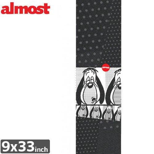 【オルモスト ALMOST スケボー デッキテープ】DROOPY POP ART GRIPTAPE【9 x 33】NO4