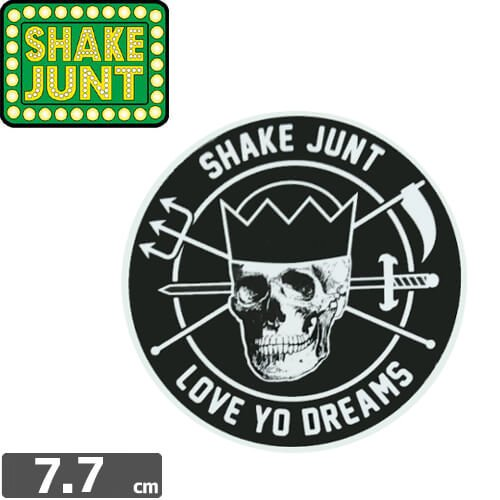 【シェークジャント SHAKE JUNT STICKER ステッカー】LOVE YO DREAMS STICKER【7.7cm x 7.7cm】NO48