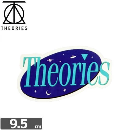 【セオリーズ THEORIES ステッカー】SPACE【5.5cm x 9.5cm】NO2