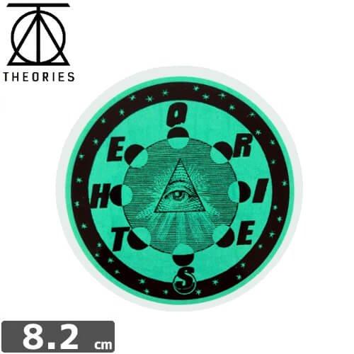 【セオリーズ THEORIES ステッカー】MORNING STAR【8.2cm x 8.2cm】NO4