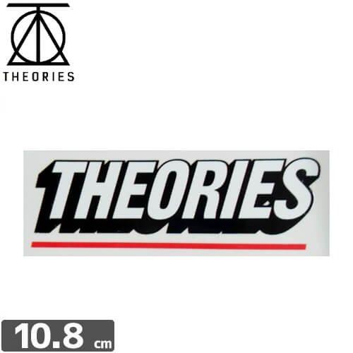 【セオリーズ THEORIES ステッカー】LOGO【3.8cm x 10.8cm】NO5