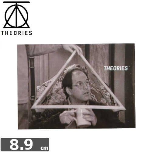 【セオリーズ THEORIES ステッカー】TRINITY【6.5cm x 8.9cm】NO6