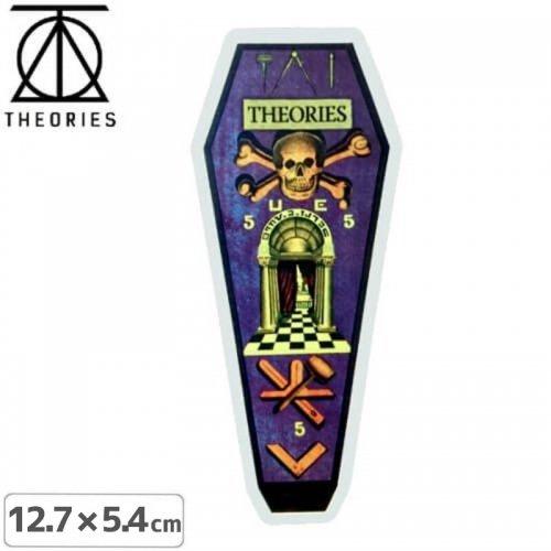 【セオリーズ THEORIES ステッカー】TRACING BOARD【12.7cm x 5.4cm】NO9