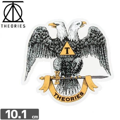 【セオリーズ THEORIES ステッカー】33RD DEGREE【9.6cm x 10.1cm】NO11