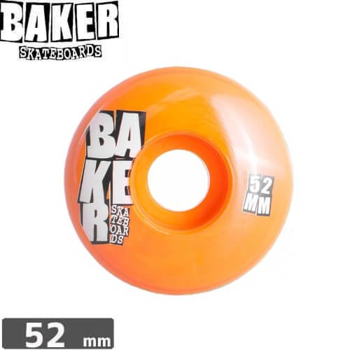 【ベーカー BAKER スケボー ウィール】STACKED WHEEL【52mm】【99A】NO12