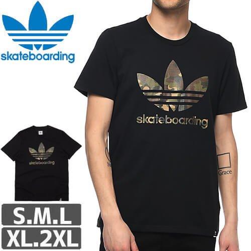 【アディダス ADIDAS SKATEBOARDING Tシャツ】Clima 3.0 Camo T-Shirt NO34