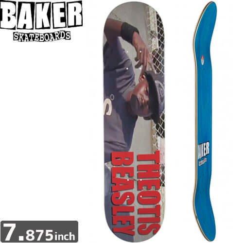 【ベーカー BAKER スケボー デッキ】BEASLEY BAKER 3 DECK[7.875インチ]NO166