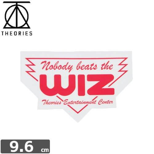 セオリーズ THEORIES ステッカー WIZ 6.1cm x 9.6cm NO18