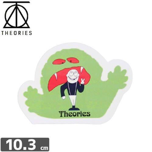 【セオリーズ THEORIES ステッカー】CREATURE【7.3cm x 10.3cm】NO21