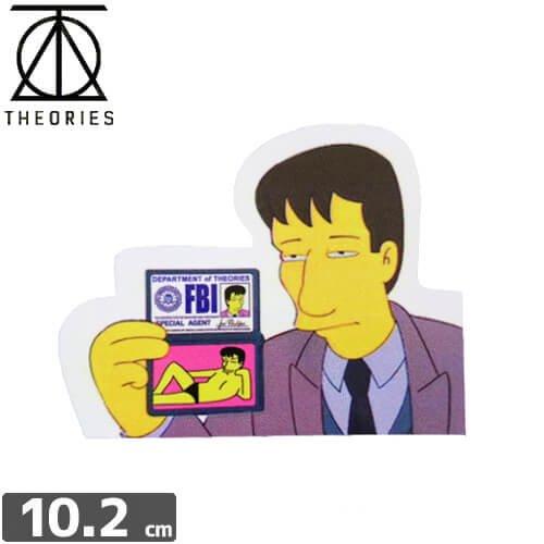 【セオリーズ THEORIES ステッカー】SPECIAL AGENT【7.8cm x 10.2cm】NO22