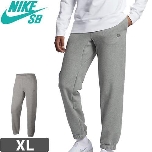 【NIKE SB ナイキ エスビー スケボー スウェット パンツ】Nike SB Icon Fleece 【ヘザーグレー】NO11