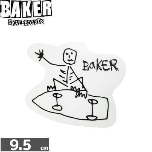 【ベーカー BAKER SKATEBOARD スケボー ステッカー】BAKER FROM THE GRAVE【7.8cm×9.5cm】NO65