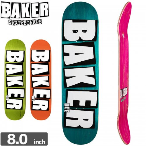 【ベーカー BAKER スケボー デッキ】BRAND NAME DEE DECK[8.5インチ]NO174