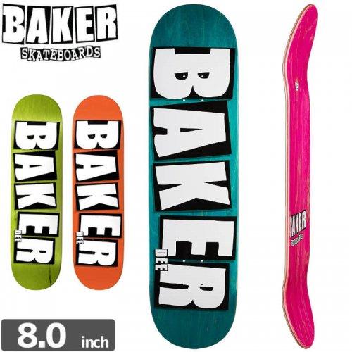 【ベーカー BAKER スケボー デッキ】BRAND NAME DEE DECK[8.0インチ]NO174