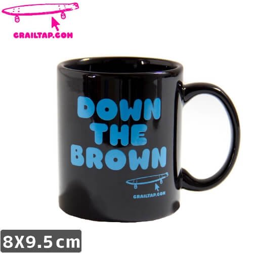 【ガール GIRL スケボー マグカップ】CRAILTAP DOWN THE BROWN MAG【8cmx9.5cm】NO01