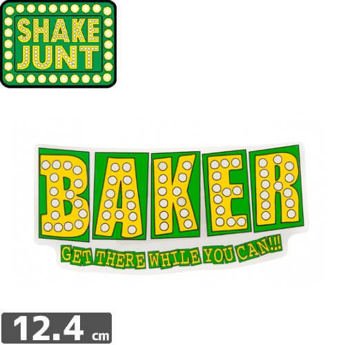 【シェークジャント SHAKE JUNT STICKER ステッカー】BAKE JUNT STICKER【5.6cm x 12.4cm】NO49