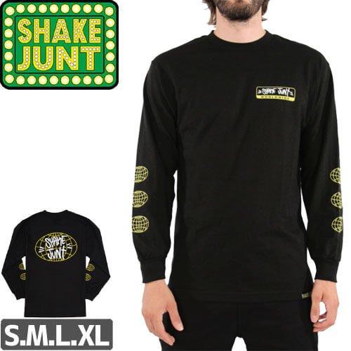【シェイクジャント SHAKE JUNT  ロングTシャツ】LENOCE PROPS LONGSLEEVE【ブラック】NO01