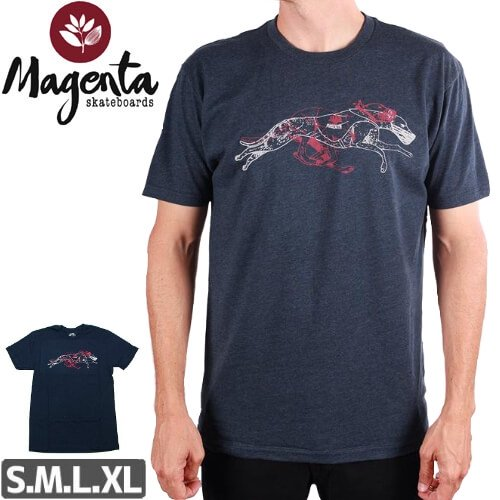 【MAGENTA マゼンタ Tシャツ】MAGENTA X SPoT COLLAB TEE【ネイビー】NO1