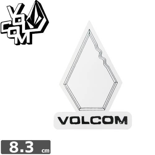 【ボルコム VOLCOM ステッカー】STICKER【8.3cm x 6cm】NO308