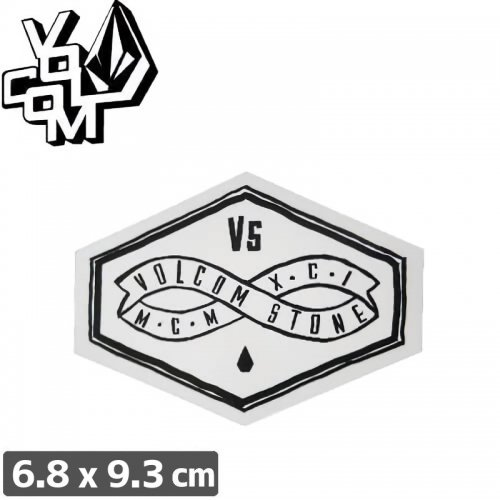 【ボルコム VOLCOM ステッカー】STICKER【6.8cm x 9.3cm】NO311