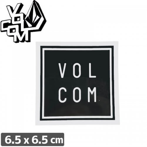 【ボルコム VOLCOM ステッカー】STICKER【6.5cm x 6.5cm】NO314