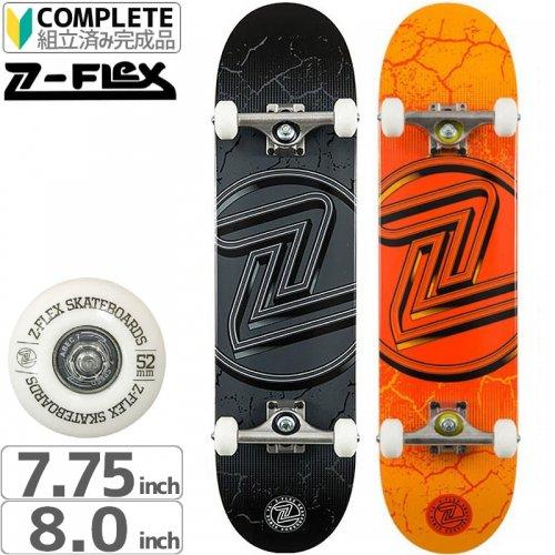 【ジーフレックス Z-FLEX スケートボード コンプリート】CRACKED LOGO COMPLETE【トリック仕様】[7.75インチ][8.0インチ]NO34