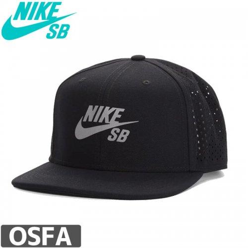 【ナイキ エスビー NIKE SB スケボー キャップ】Performance Pro Trucker Hat【ブラック】NO27