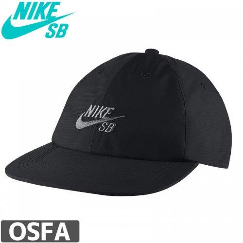 【ナイキ エスビー NIKE SB スケボー キャップ】Nike SB Heritage86 Hat【ブラック】NO28