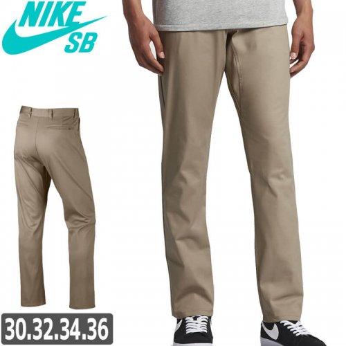 【NIKE SB ナイキ エスビー スケボー チノ】Nike SB Flex Icon チノパンツ【カーキ】NO13