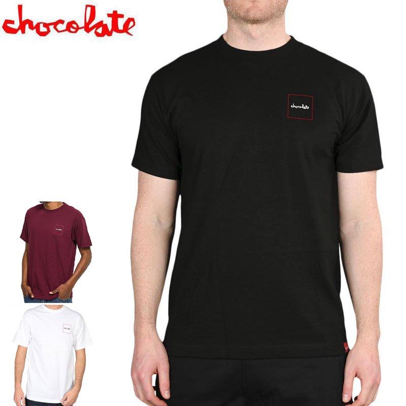 【チョコレート CHOCOLATE スケートボード Tシャツ】SQUARED TEE NO167