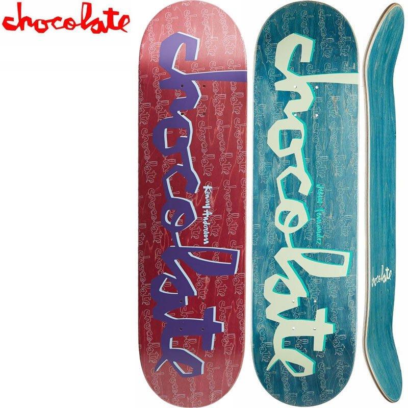 【チョコレート CHOCOLATE スケートボード デッキ】ORIGINAL CHUNK DECK ナチュラル[7.75インチ][8.0インチ][8.125インチ]NO1…