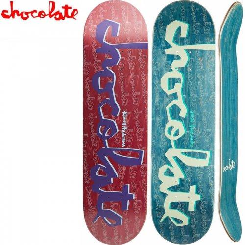 【チョコレート CHOCOLATE スケートボード デッキ】ORIGINAL CHUNK DECK ナチュラル[8.125インチ]NO152
