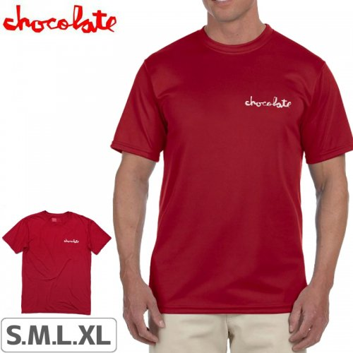 【チョコレート CHOCOLATE スケボー Tシャツ】PERFORMANCE CHUNK TEE NO173