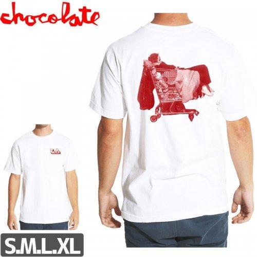 【チョコレート CHOCOLATE スケボー Tシャツ】ANGEL CITY TEE NO174