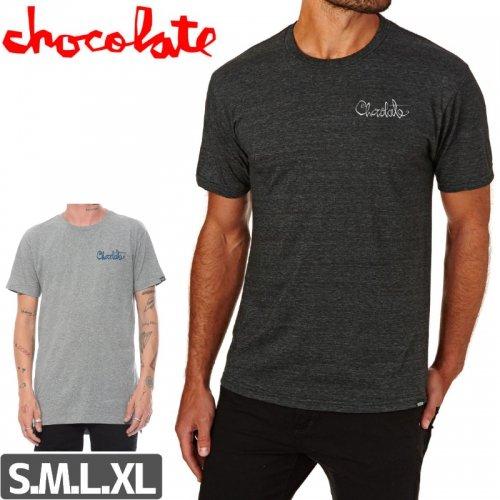 【チョコレート CHOCOLATE スケボー Tシャツ】OG SCRIPT TEE NO175