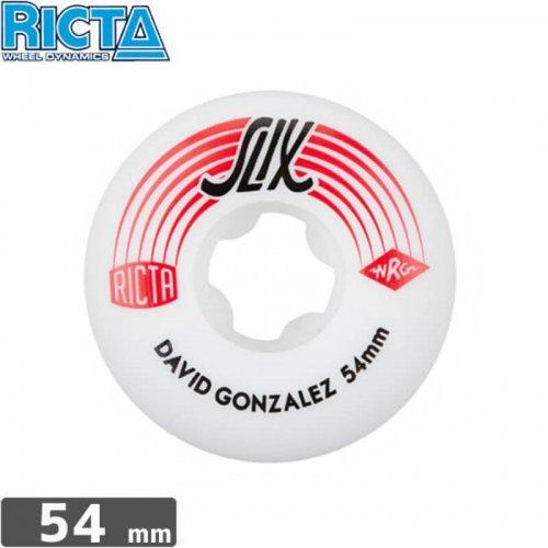 【リクタ RICTA スケボー ウィール】DAVID GONZALEZ SLIX【54mm】NO34