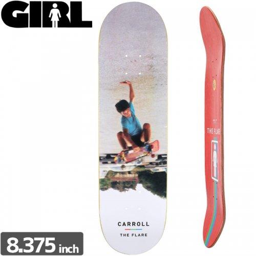 【ガール GIRL スケボーデッキ】CARROLL THE FLARE [8.3インチ]NO205