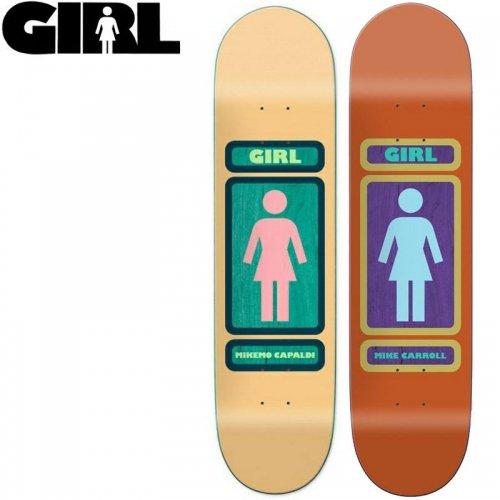 【ガール GIRL スケボーデッキ】93TIL SERIES DECK[7.5インチ][7.8インチ]NO206