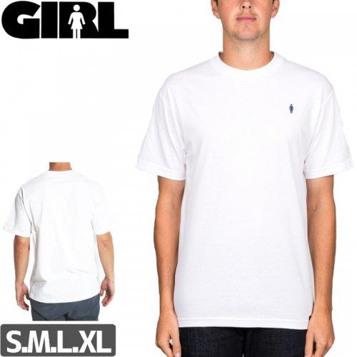 【ガール GIRL スケボー Tシャツ】MICRO OG EMBROIDERY TEE NO289