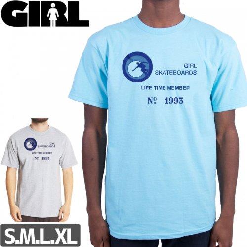 【ガール GIRL スケボー Tシャツ】MEMBERSHIP PREMIUM TEE NO291