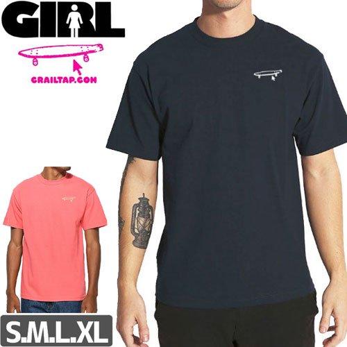 【ガール GIRL スケボー Tシャツ】CRAILTAP CRAIL LOGO TEE NO293
